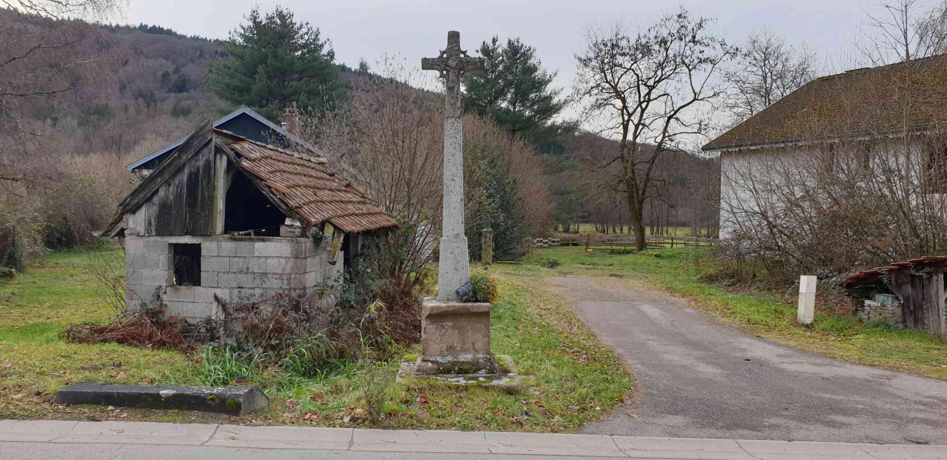 Croix 4 rue de laveline
