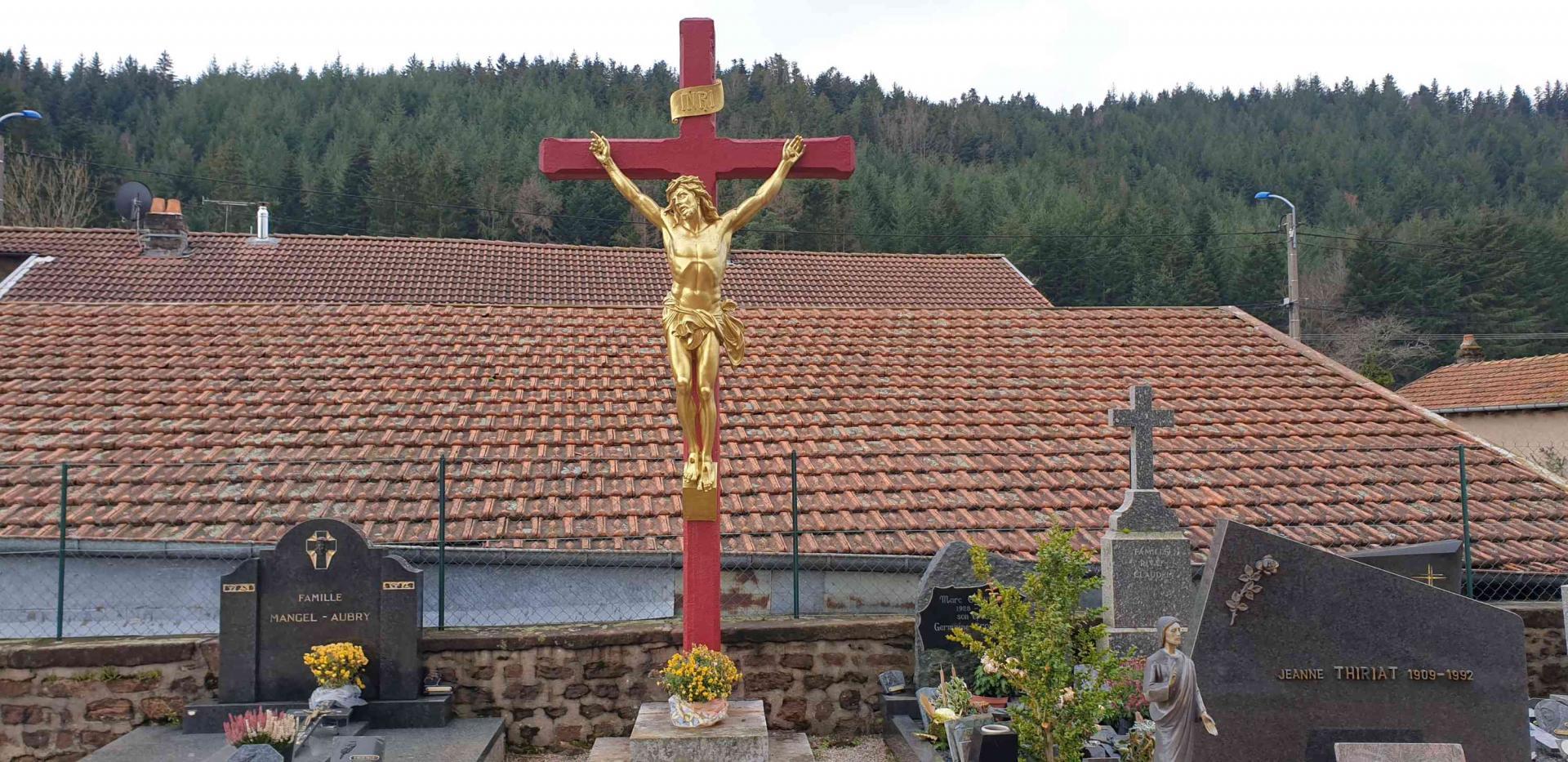 Croix de cimetiere n 3