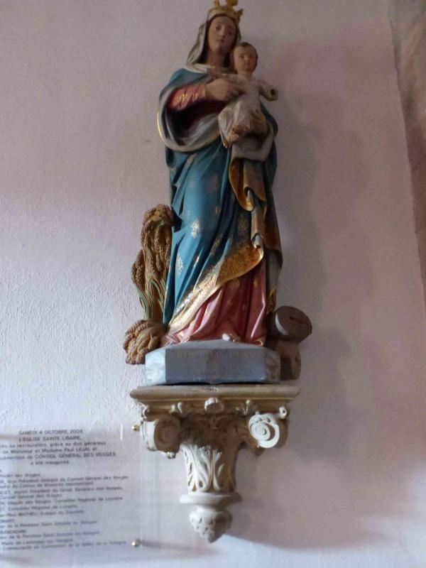 Statue notre dame